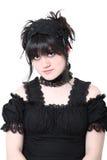 Manera gótica del japonés de Gosurori Lolita Fotografía de archivo libre de regalías