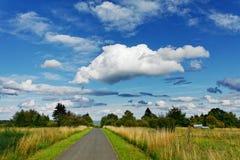 Manera a la nube Foto de archivo