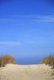 Manera a la playa Fotografía de archivo libre de regalías