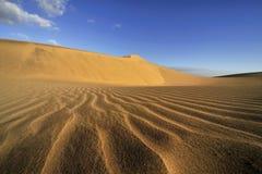 Manera a las dunas fotografía de archivo