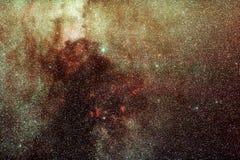 Manera lechosa en Cygnus Fotos de archivo
