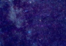 Manera lechosa en la constelación del Cassiopeia Fotografía de archivo libre de regalías