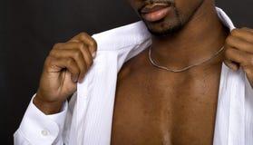 Manera masculina Imagen de archivo libre de regalías