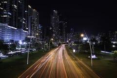 Manera peatonal de la costa de mar de Panamá Imagen de archivo libre de regalías