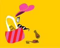 Manera/playa stock de ilustración