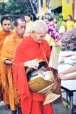 Manera tailandesa de Bhuddist foto de archivo libre de regalías