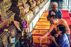 Manera tailandesa de Bhuddist fotos de archivo libres de regalías