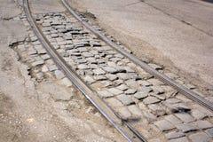 Maneras de la tranvía Foto de archivo