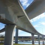 Maneras del puente de Jacksonville Fotos de archivo libres de regalías