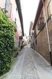 Maneru city, road to Santiago de Compostela, Navarre Royalty Free Stock Images