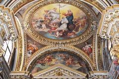 Manerva di sopra di Santa Maria dei Di di Chiesa Immagine Stock Libera da Diritti