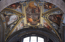 Manerva di sopra di Santa Maria dei Di di Chiesa Fotografie Stock