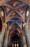 Manerva sopra Santa Maria di Chiesa Стоковое Изображение