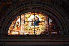 Manerva sopra Santa Maria di Chiesa Стоковая Фотография RF