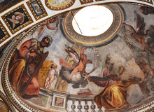 Manerva sopra Santa Maria di Chiesa стоковое фото