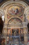 Manerva sopra Santa Maria di Chiesa Стоковое фото RF