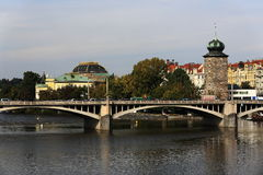 Manes, Zofin, Historic buildings, Prague, Czech Republic Stock Photography