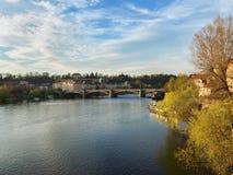 Manesuv Brücke Stockfoto