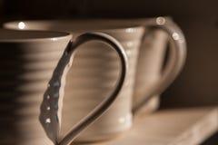 Maneta de la taza Foto de archivo libre de regalías