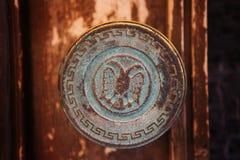 Maneta de puerta Imágenes de archivo libres de regalías