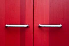 Maneta de puerta Imagen de archivo libre de regalías