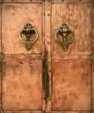 Maneta de puerta Foto de archivo libre de regalías