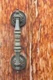 Maneta de puerta antigua Fotografía de archivo