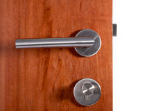 Maneta de puerta de aluminio Fotografía de archivo libre de regalías