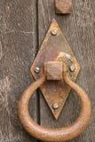 Maneta de puerta vieja Imagen de archivo