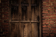 Maneta de puerta vieja Imágenes de archivo libres de regalías