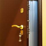 Manetas de puerta. foto de archivo