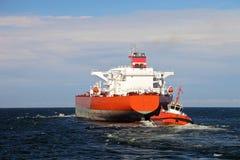 Maneuvers at sea Stock Photo