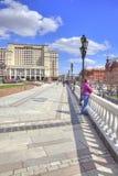 Manezhnaya Square. Moscow Royalty Free Stock Photography
