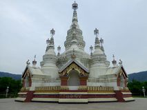 Manfeilong pagoda Royalty Free Stock Photo