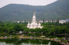 Manfeilong pagoda Wuxi China Stock Photo