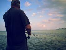 Manfiske Royaltyfri Foto