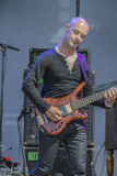 Manfred Mann's Earth Band, Steve Kinch playing bass-guitar Royalty Free Stock Images