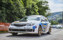Manfred Stohl-Tina Monego- Transylvania Rally 2014 Stock Image