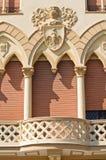 Manfredi宫殿。切里尼奥拉。普利亚。意大利。 库存图片