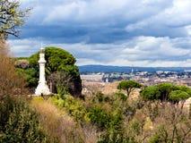 Manfredi Lighthouse em Roma, Itália. fotos de stock