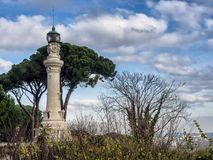 Manfredi Lighthouse em Roma, Itália Imagens de Stock Royalty Free