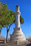 Manfredi Lighthouse at the Gianicolo  Janiculum Hill  in Rome, Italy Stock Photos