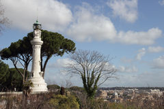 Manfredi Lighthouse in Rome Royalty Free Stock Photo