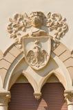Manfredi Palace. Cerignola. Puglia. Italië. stock foto's