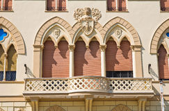 Manfredi Palace. Cerignola. Puglia. Italia. Imágenes de archivo libres de regalías