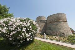 Manfredonia (Apulia, Italy) - Castle Royalty Free Stock Images