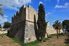 Manfredonia, Apulia, Italy. The castle Castel of Manfredonia, Apulia, Italy Royalty Free Stock Photography