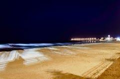 Manfredonia strand Royaltyfria Foton