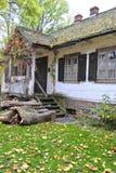 Mangårdsbyggnad gammalt hus Arkivbild