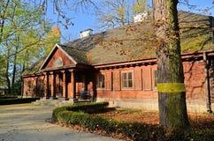 Mangårdsbyggnad i Radziejowice (Polen) Royaltyfria Foton
